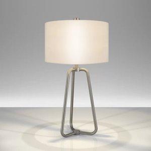 Jiles 26 Table Lamp Nickel