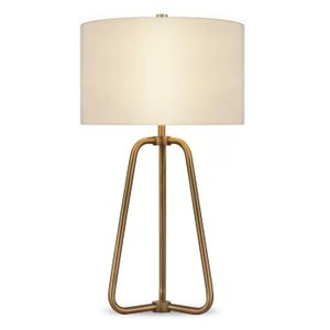 Jiles 26 Table Lamp Antique Brass