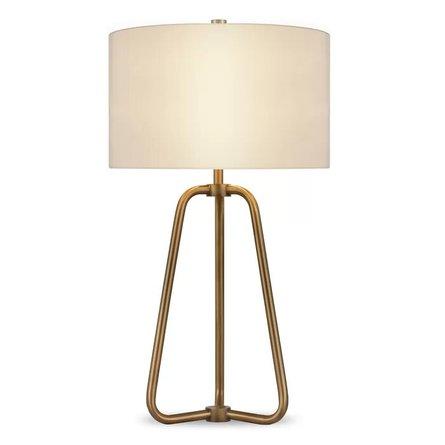 Jiles 26 Table Lamp Antique Brass