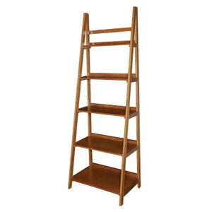 Albali Ladder Bookcase Brown