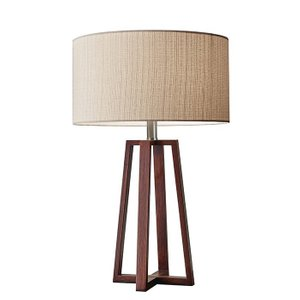 "Azha 24"" Table Lamp Walnut"