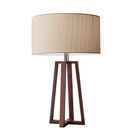 """Azha 24"""" Table Lamp Walnut"""