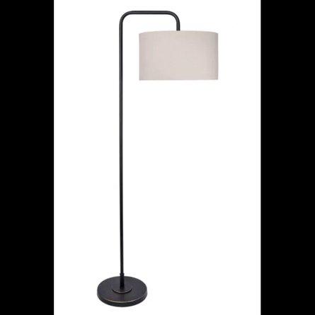 """Hyatt 64"""" Arched Floor Lamp Bronze"""