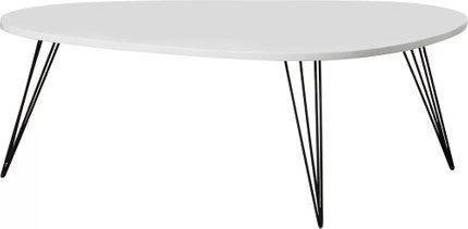 Altarf Coffee Table White & Black