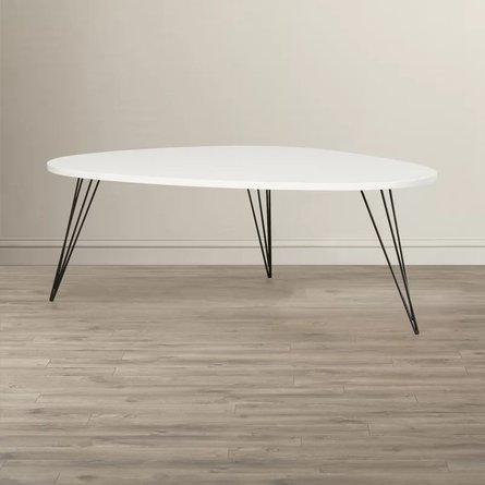 Altarf Coffee Table White & Black