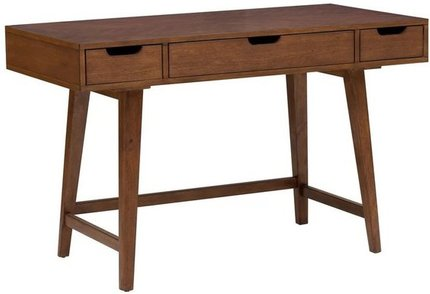 Nekel Mid-Century Writing Desk Brown