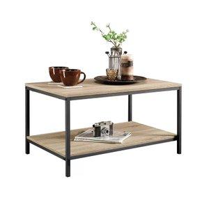 Ethel Coffee Table Oak & Black