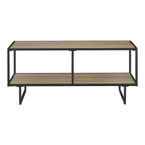 Samuel Media Console Brown Oak