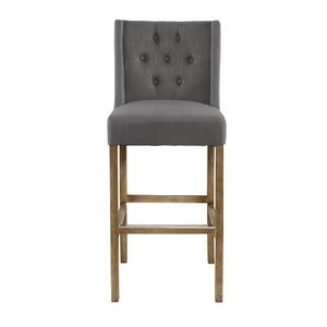 Sixtine Bar Stool Gray 30""