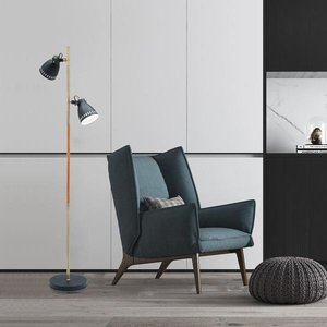 Zelshing Floor Lamp Black