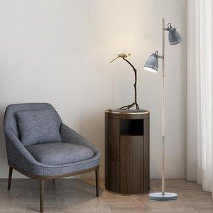 Zelshing Floor Lamp Gray