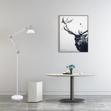 Yukon Floor Lamp White