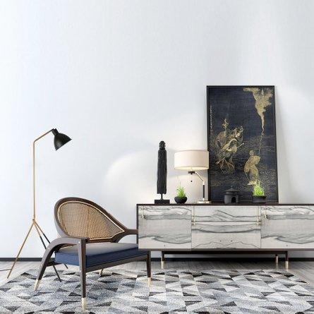 Ingrid Floor Lamp Black