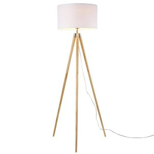 Lasam Tripod Floor Lamp Natural