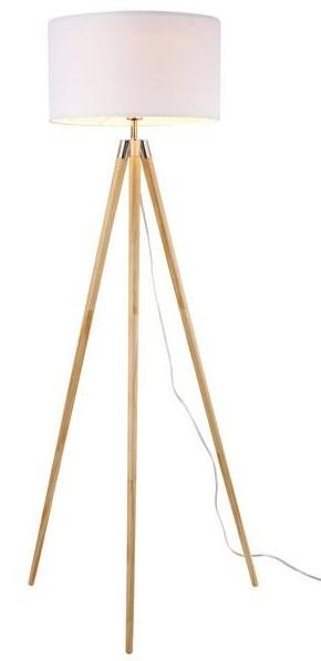 Lasam Tripod Floor Lamp Natural