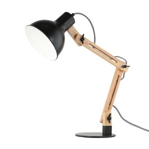 Galvan LED Task Table Lamp Black