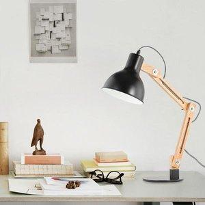 Galvan LED Task Table Lamp Black