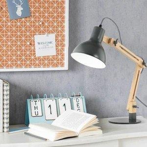 Galvan LED Task Table Lamp Gray