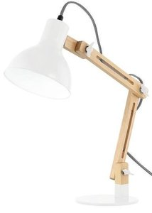 Galvan LED Task Table Lamp White