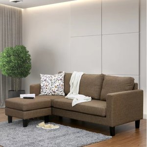 Atik Reversible Sectional Brown