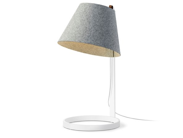 Lana Table Lamp Large Stone Gray And White