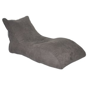 Slacker Bean Bag Chair Gray