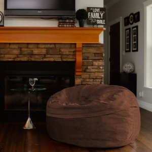 Converter Bean Bag Chair Brown