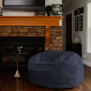 Converter Bean Bag Chair Gray