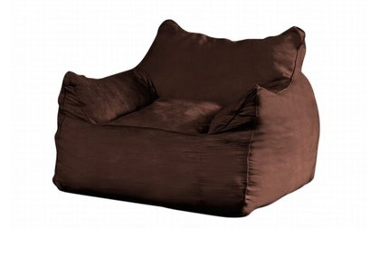Evolution Bean Bag Chair Brown