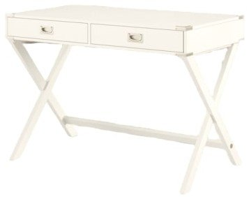 Madge Campaign Writing Desk White
