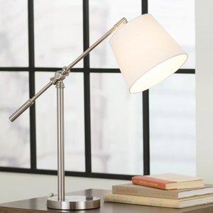"Nicolas 20"" Desk Lamp Metallic"