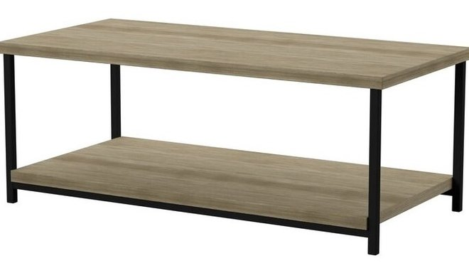 Colt Coffee Table Distressed Gray Oak