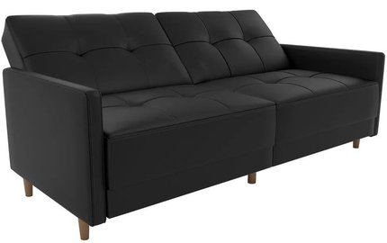 Attfi Sleeper Sofa Black