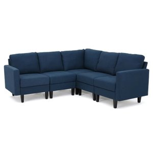 Arneb Reversible Sectional Dark Blue