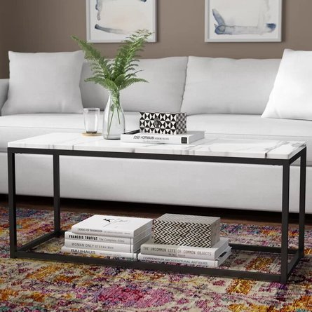 Buller Coffee Table White