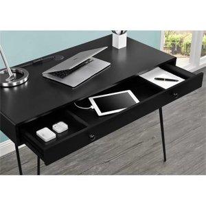 Juniper Writing Desk Black