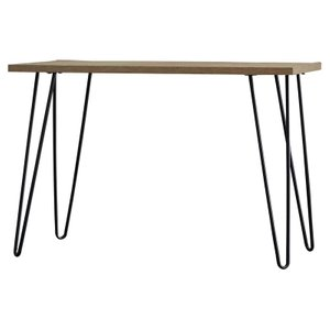 Pamark Rectangular Writing Desk Distressed Gray