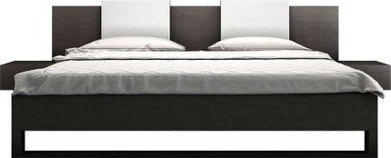 Monroe King Bed Wenge
