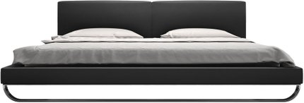 Chelsea Queen Bed Eiffel Tower Eco Leather