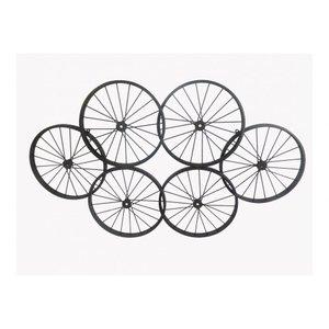 Wheels Wall Decor Black