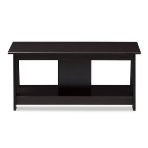 Fionan Coffee Table Wenge Brown