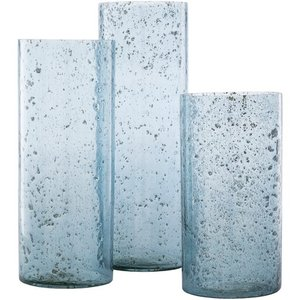 Mist Candle Holder Blue (Set of 3)