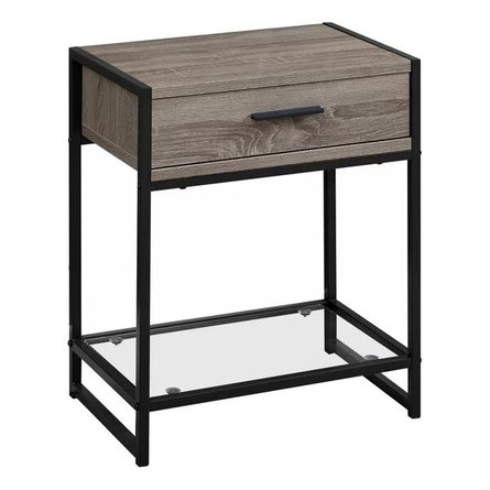 Hammons End Table Taupe