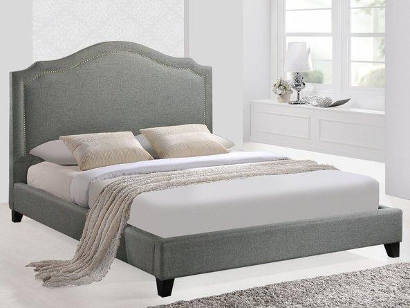 Charlotte Queen Bed Gray