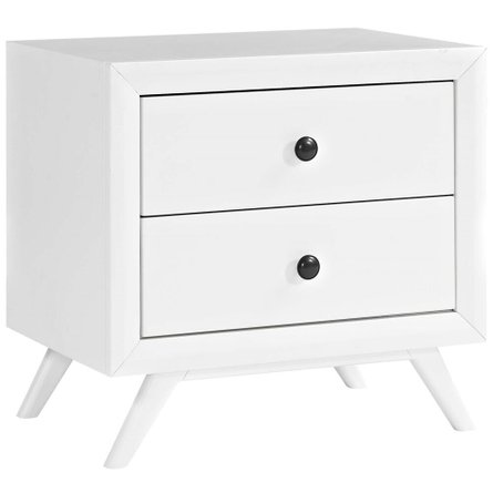 Tracy Nightstand White