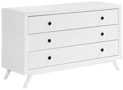 Tracy Wood Dresser White