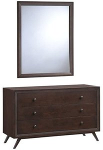 Tracy Dresser With Mirror Cappuccino