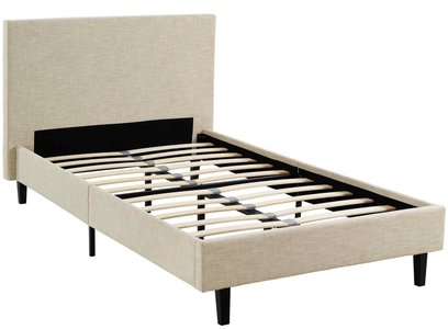 Anya Twin Bed Beige
