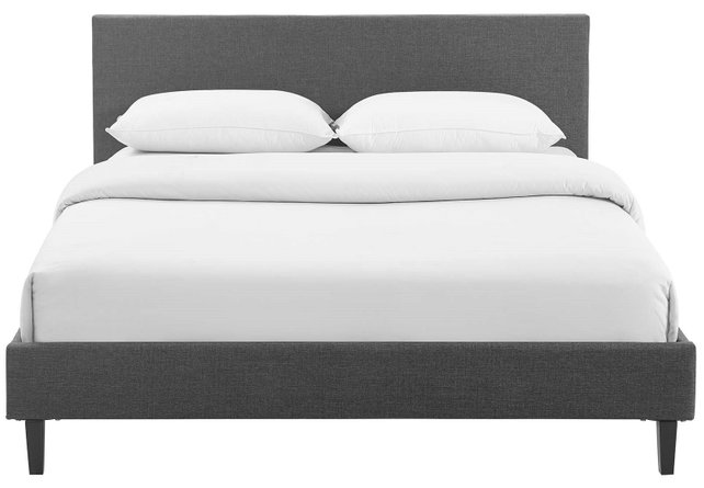 Anya Full Bed Gray