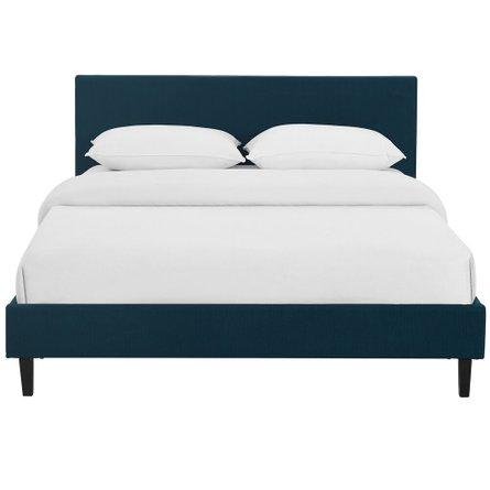 Anya Queen Bed Azure